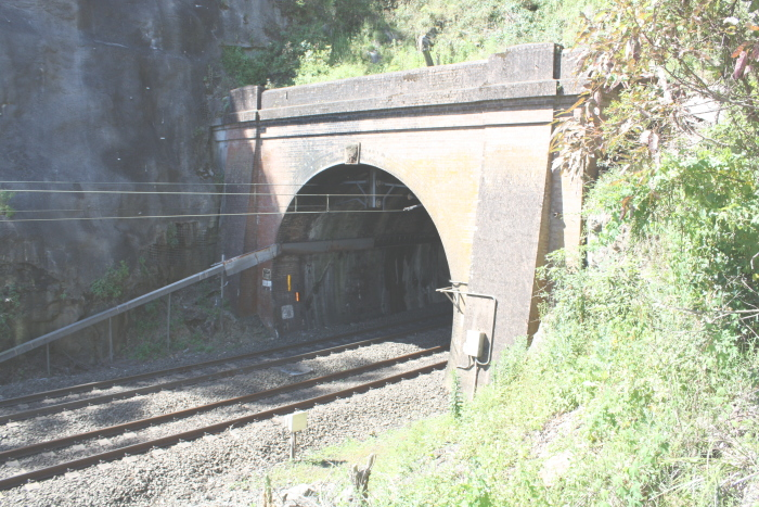 The Down (Southern) Portal of the tunnel.