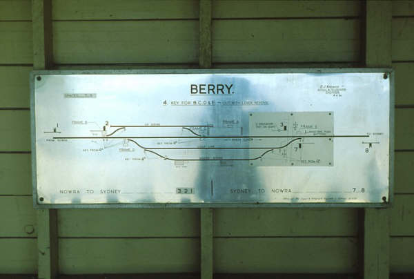 Berry frame and diagram in 1985.