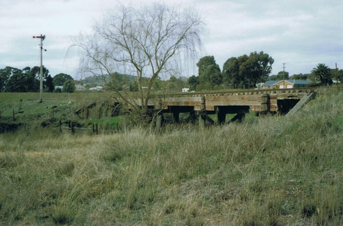 The small bridge at the approaches to Boorowa.