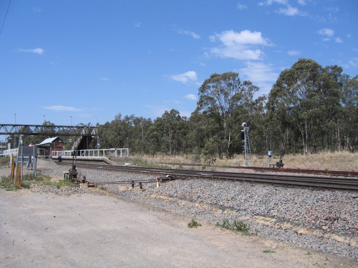The view looking towards the down end of the station.