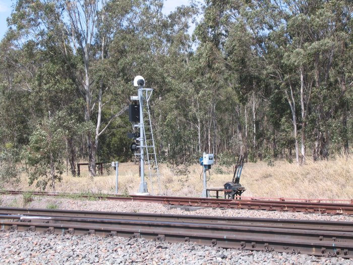The BN109 Signal, on the now-disused Down Refuge Loop siding.