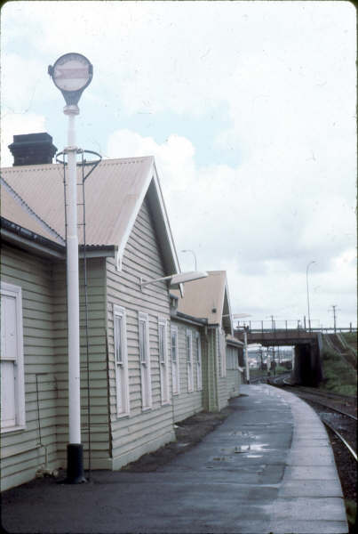 This is the platform repeater which told of many an up train, used because of the curved platform which blocked the view of the Broadmeadow South Home signal.