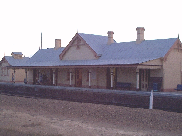 The station building at Bungendore.