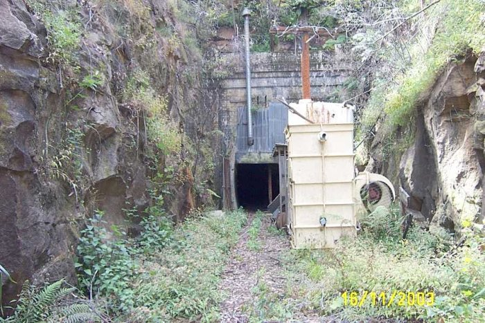 The tunnel was used in later years as a mushroom farm.