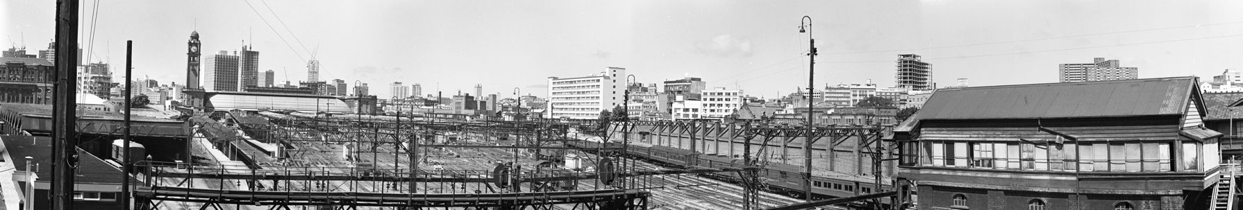 A panorama view of Central Yard.