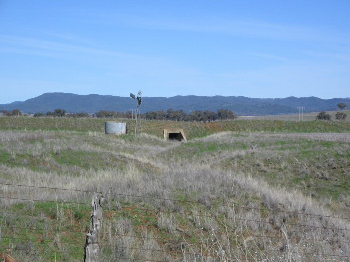 A sample of just one of the many culverts throughout the line.