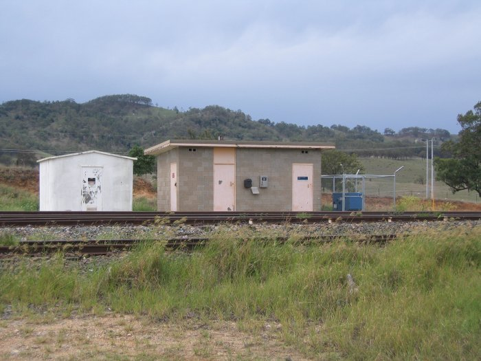 The signal hut controlling the junction to the coal loader.