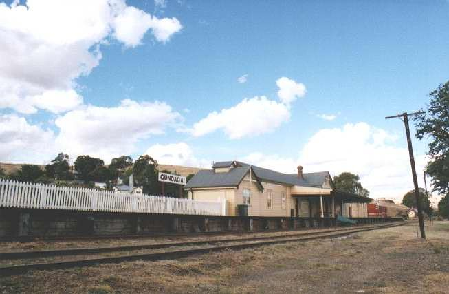 Another view of the station, this time looking back towards Cootamundra.