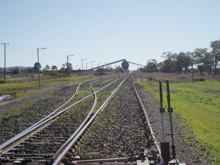 On the coal mine loop, there are two loading bins, Vickery and Whitehaven.