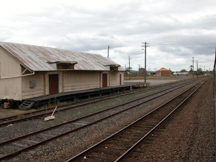Goods shed and yard
