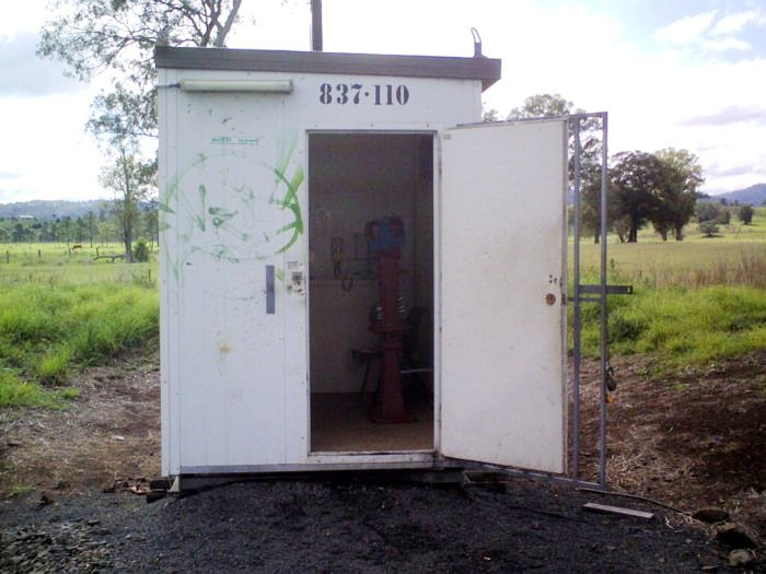 The staff hut at Kyogle Loop.