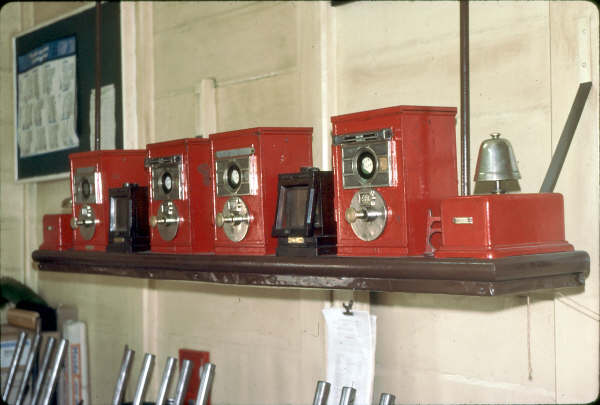 The block instruments in Medway Junction Box, for Tallong & Marulan.
