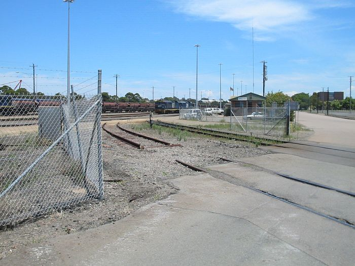 BHP junction looking back into Morandoo yard.