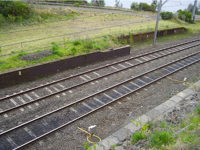 At the southern end of the down platform is the remains of the former dead end platform once used for local services that started at Scarborough.  The former Scarborough signal box was situated just past the end of the dead end platform.