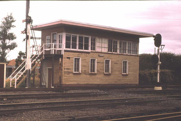 Thirroul Signal Box had a tremendous view of the ranges and a decent size yard to look after.
