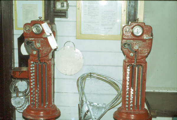 The staff instruments to Kapooka (left) & Bomen on the right. 1980.