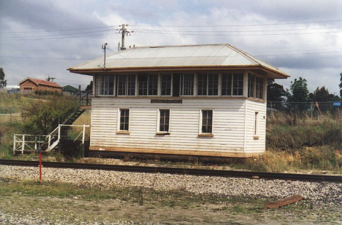 The now abandoned Wallerawang West Signal Box.